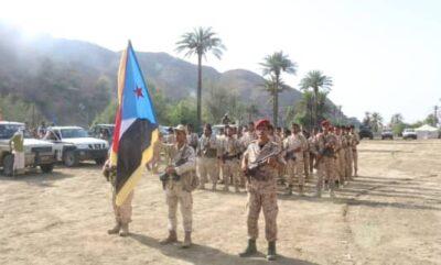 قيادات المجلس الإنتقالي الجنوبي تزور الجبهات المحاذية للمحافظات الشمالية بخط التماس مع الحوثيين