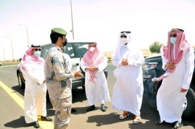 وكيل إمارة منطقة الجوف يتفقد منفذ الحديثة الحدودي مع الأردن