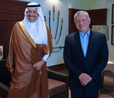 سفير المملكة لدى الأردن يهنئ بعيد الاستقلال