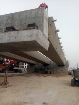 أمانة الشرقية: ٦٠٪ نسبة  إنجاز مشروع جسر تقاطع طريق الأمير نايف مع الشارع الثامن عشر بالدمام