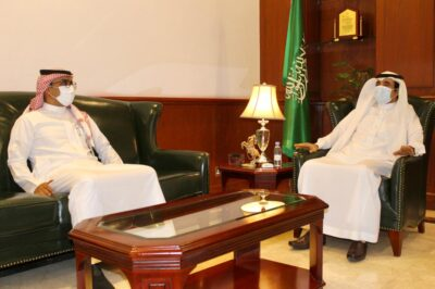 محافظ الرس يستقبل رئيس بلدية المحافظة