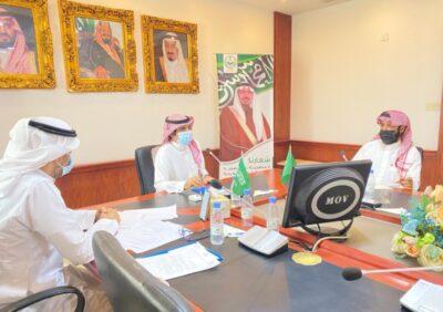 محافظ الرس يلتقي أعضاء لجنة التنمية السياحية بالمحافظة