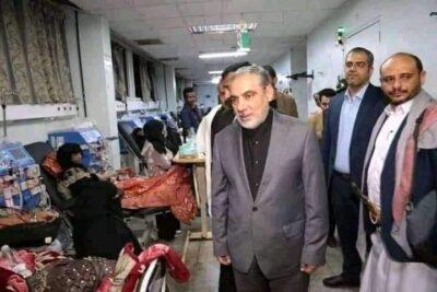 """تحركات السفير الإيراني """"حسن ايرلو"""" تثير جدلاً واسعًا في أوساط اليمنيين بوصفهم لها بالمستفزة"""