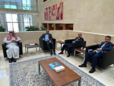 سفير المملكة لدى الأردن يلتقي رئيس غرفة صناعة عمان والأردن
