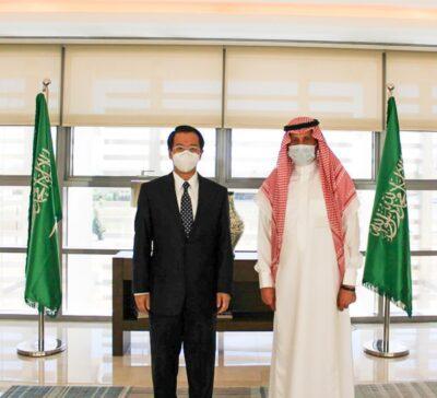 سفير المملكة لدى الأردن يلتقي السفير الصيني وأعضاء في مجلس النواب الأردني