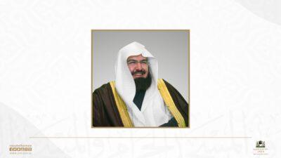 الرئيس العام يعلن نجاح خطة الرئاسة ليلة ختم القرآن