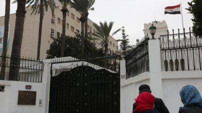 حقيقة تعرض السفارة المصرية في ليبيا للاقتحام والسرقة
