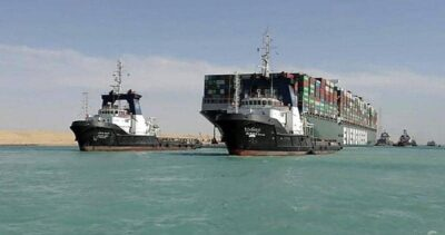 القضاء المصري يؤجل نظره في احتجاز سفينة السويس الجانحة