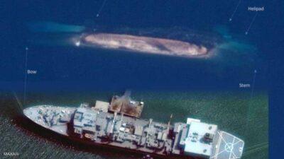 """إيران خسرت أكبر سفنها الحربية.. """"كابوس"""" يتكرر لثالث مرة"""
