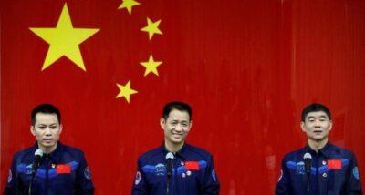 3 رواد صينيين إلى الفضاء لأول مرة منذ 5 أعوام
