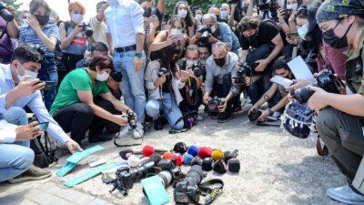 تظاهرات في تركيا عقب الاعتقال العنيف لمصور فرانس برس