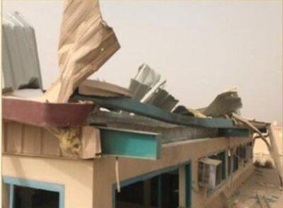 مدني عسير: سقوط طائرة مفخخة بدون طيار على إحدى المدارس دون حدوث أي إصابات