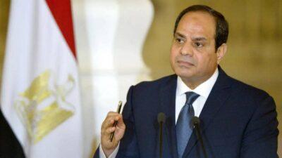 الرئيس المصري يدعو أمير قطر لزيارة مصر