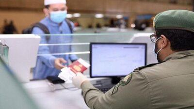 الجوازات تدعو القادمين للمملكة غير السعوديين تسجيل اللقاحات إلكترونيًّا