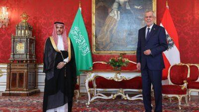 رئيس النمسا يستقبل الأمير فيصل بن فرحان في العاصمة فيينا