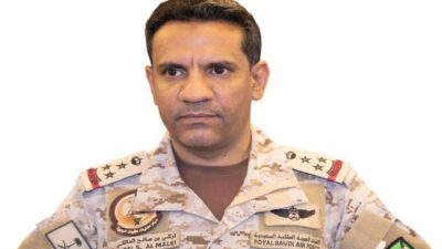 التحالف: تدمير صاروخ باليستي ثانٍ أطلقه الحوثي تجاه خميس مشيط