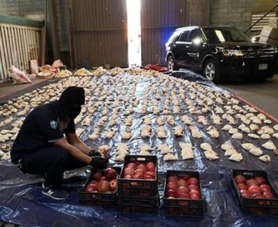 """السلطات اللبنانية تضبط المتورطين في تهريب شحنة المخدرات للمملكة عبر إرسالية """"الرمان"""""""