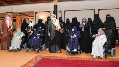 الأمير فهد بن سلطان : أنتم عندي أهم من أي شيء آخر ولكم مكانة خاصة في قلبي