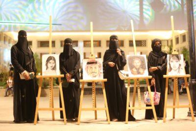"""""""فرح"""" تخطف جائزة الرسم في فعاليات حكاية بالمدينة المنورة"""