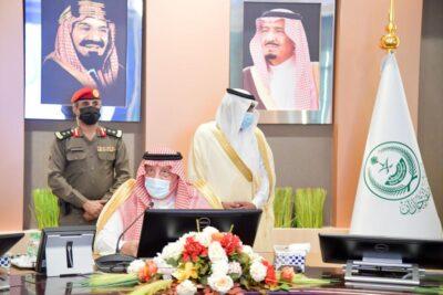 أمير منطقة جازان  يرأس الجلسة الافتتاحية لمجلس المنطقة في دورته الثانية