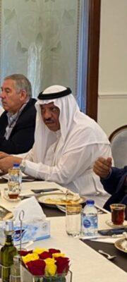 """السفير """"السديري"""" يجمع المسؤولين الأردنيين على مائدة إفطار الجمعة"""
