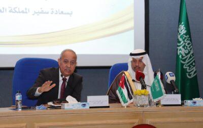 السفير السعودي من مقر غرفة صناعة عمان  : البنية التحتية في الأردن جاهزة لجذب الإستثمارات