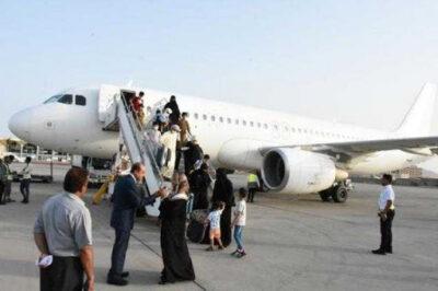 مطار عدن الدولي يستقبل أولى رحلات طيران الإسكندرية