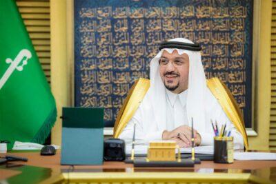 أمير منطقة القصيم يشكر فرع الرئاسة العامة لهيئة الأمر بالمعروف بالمنطقة على جهودهم الميدانية