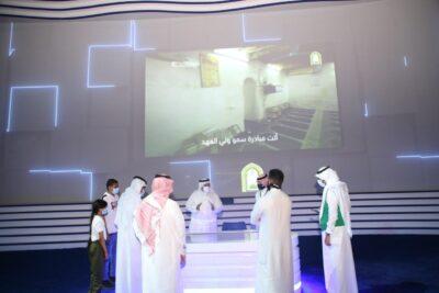 جناح الشؤون الإسلامية يستقبل زواره بمعرض مكة للمشروعات الرقمية بقبة جدة