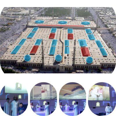 شاهد .. زوار معرض مشروعات مكة الرقمي يتعرفون على أكبر مشروع لتطوير أنظمة التكييف في مساجد المشاعر