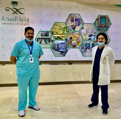 عمل رقعة من المثانة وتوصيلها بالحالب الأيسر لفتاة عشرينية بمستشفى شرق جدة