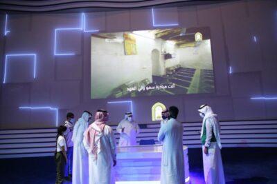 جناح الشؤون الإسلامية بمعرض مشروعات مكة الرقمي يطلع الزوار على عدد من مشاريع المساجد التاريخية بالمنطقة
