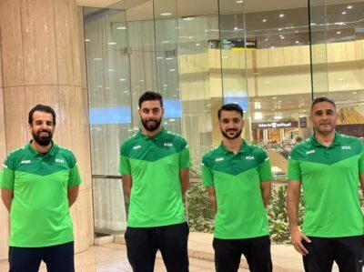 المنتخب السعودي لكرة الطاولة يصل إلى ألمانيا