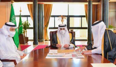 سمو أمير تبوك يطلع على سير العمل في المشاريع التي تنفذها أمانة المنطقة