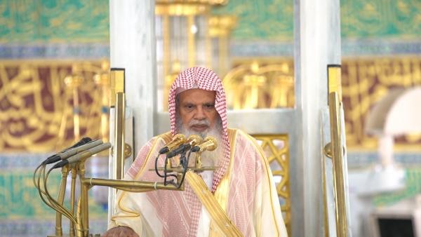 إمام المسجد النبوي: إن في إقبال وإدبار يوم وعام وإدبار يوم وعام لعبراً