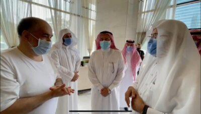 بالفيديو .. سائح سعودي لوزير الشؤون الإسلامية زيارتكم مؤثرة والجميع يتحدث عنها والكل مهتم بها