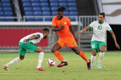 """ساحل العاج يفوز على """"الأخضر الأولمبي"""" بثنائية في أولمبياد طوكيو"""