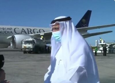 """سفير المملكة في تونس: المساعدات السعودية لتونس """"الأضخم"""".. وستسهم في استقرار الوضع الصحي"""
