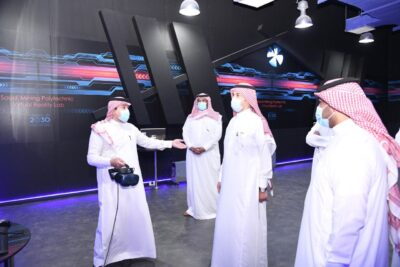 مساعد وزير الموارد البشرية يزور المعهد السعودي التقني للتعدين بعرعر