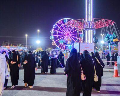 فعاليات مهرجان البصر في بريدة تستمر مع عيد الأضحى المبارك