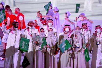 اليابان تأسر أنظار العالم بافتتاح أولمبي مبهر