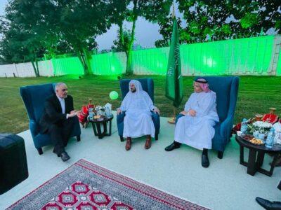 سفير خادم الحرمين الشريفين بالبوسنة والهرسك يقيم حفل عشاء لوزير الشؤون الإسلامية