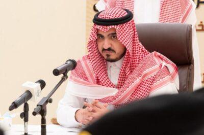 نائب أمير مكة يطلع على استعدادات الجهات لحج 1442هــ