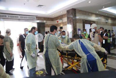 تجربة فرضية لقياس جاهزية طوارئ مستشفى منى الوادي لإستقبال الحالات