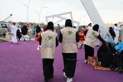 تنمية الحرث توزع أكثر من 2000  هدية خلال أيام عيد الأضحى