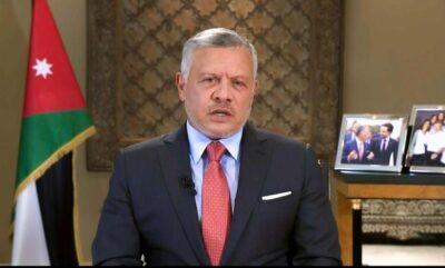 ملك الأردن يكشف عن تعرض بلاده لهجوم بطائرات مسيرة إيرانية الصنع