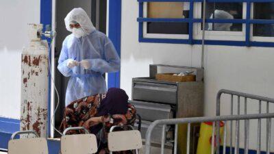 تونس تعلن انهيار المنظومة الصحية بالبلاد بسبب تفشي كورونا السريع