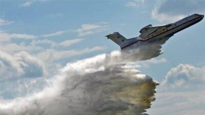 تحطم طائرة إطفاء مستأجرة من روسيا بجنوب تركيا