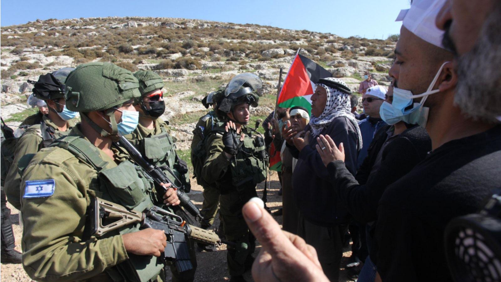 إصابة عشرات الفلسطينيين بمواجهات مع الجيش الإسرائيلي في الضفة الغربية