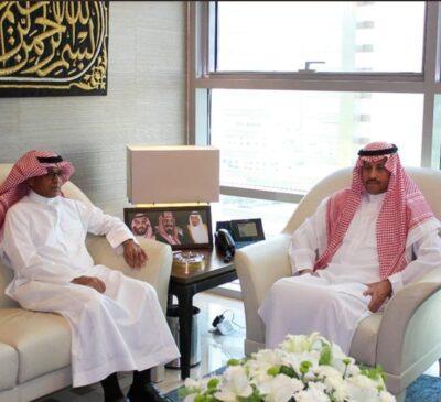 السديري سفير المملكة لدى الأردن يلتقي بالمدير الإقليميلرابطة العالم الإسلامي